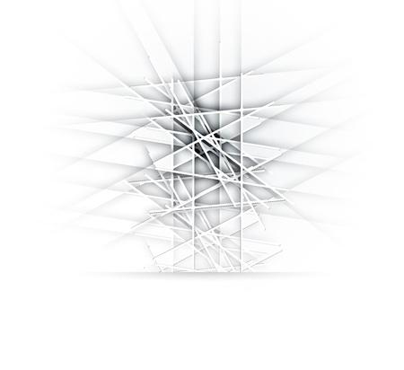 Résumé futuriste papier graphique CGLU d'affaires
