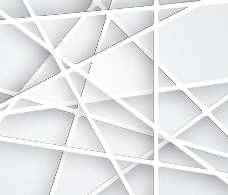 Abstract Futuristic Paper Graphics Business Backround