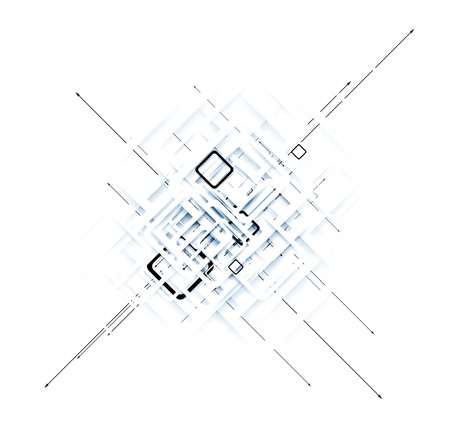 RESEAU: la science futuriste internet haute technologie arri?re-plan d'affaires de l'ordinateur
