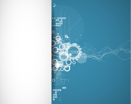 industrial scientific: abstract global infinity computer  technology concept business background