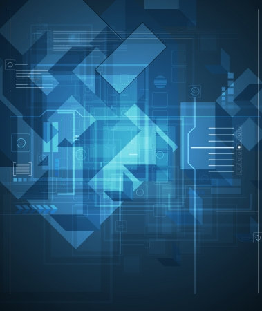 abstract global infinity computer  technology concept business background Vector