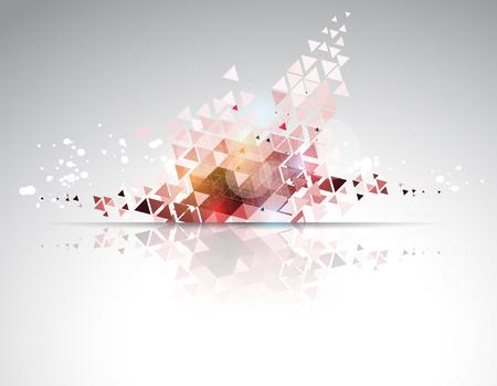 dynamic development: science futuristic internet high computer technology