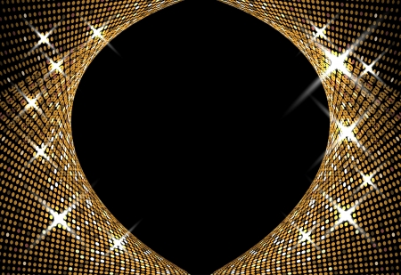sound system: abstract music volume gold infinity computer  technology concept business background Illustration