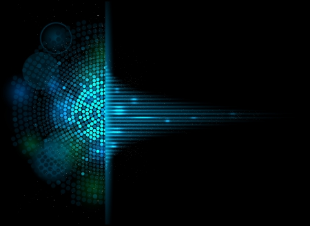 abstract music volume equalizer infinity computer  technology concept business background