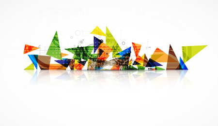 software engineering: abstract futuristic circuit high computer technology business background Illustration