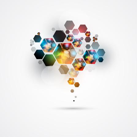 abstracto infinito tecnología informática concepto de fondo de negocio global