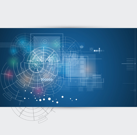industry background: abstracto infinito tecnolog�a inform�tica concepto de fondo de negocio global