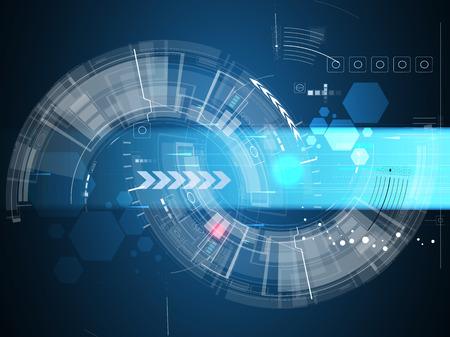 Concept de la technologie informatique résumé infini global fond des affaires Banque d'images - 27235083