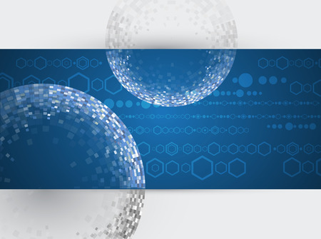 Design Engineering Science like a Modern Technology background Vector