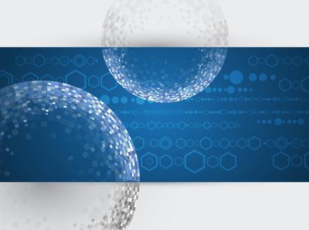 Design Engineering Wissenschaft wie eine moderne Technologie Hintergrund Illustration