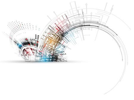 新技術企業のビジネス & 開発のコンセプト