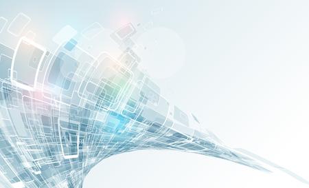 新しい技術企業のビジネス ・開発背景の概念