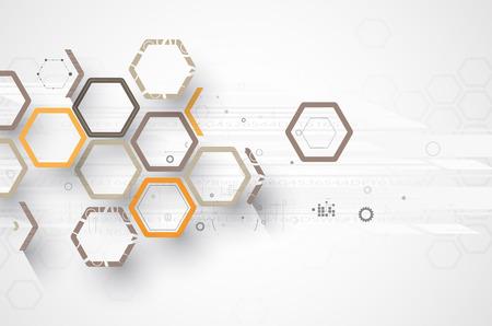 Concept pour les nouvelles technologies d'entreprise et le développement fond