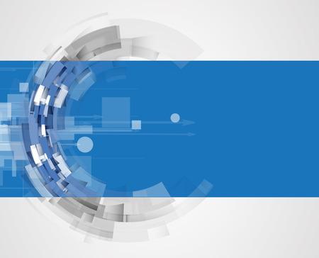 Konzept für neue Technologie Großunternehmen und Entwicklungs Hintergrund