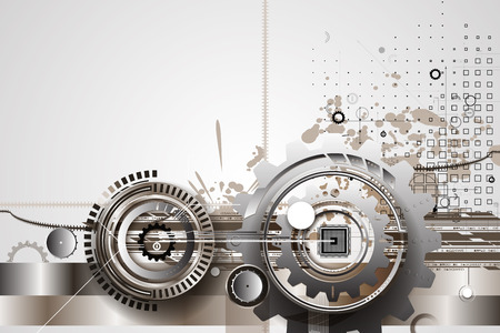 infomation: machine technology gears. retro gearwheel mechanism abstract bacground