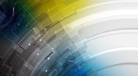 computer program: Elegant background for business tech presentations.