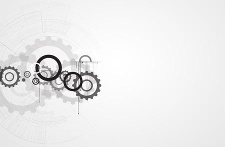 gearwheel: machine technology gears. retro gearwheel mechanism abstract bacground
