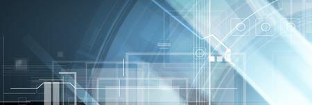 Resumen de antecedentes de la tecnología de estilo futurista Ilustración de vector