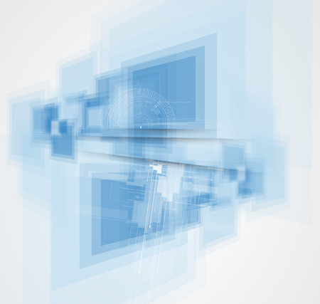 Abstract vector background. Futuristic technology style. Elegant background for business tech presentations. Vector