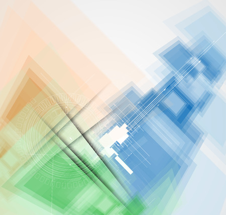 Abstract background Futuristic technology style. Vector