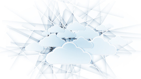 breakthrough: Sky save technology concept. Virtual power of business concept