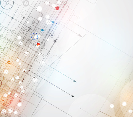 software design: Abstract vector background. Futuristic technology style. Elegant background for business tech presentations.