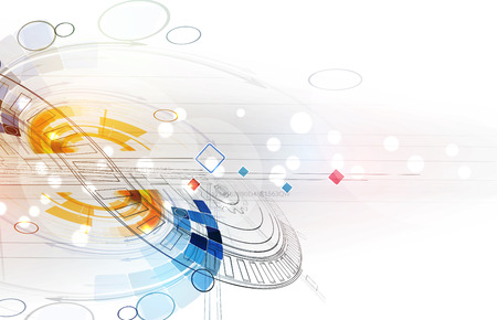 integrate: Abstract vector background. Futuristic technology style. Elegant background for business tech presentations.