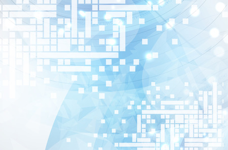 it tech: Abstract vector background. Futuristic technology style. Elegant background for business tech presentations.