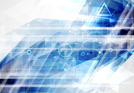 technical support: Abstract vector background. Futuristic technology style. Elegant background for business tech presentations.