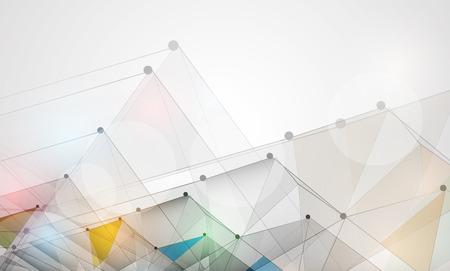 Résumé de fond de vecteur. Le style futuriste technologie. Elegant background pour les présentations d'affaires de technologie. Illustration