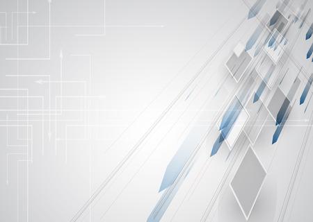 innovativ: New zukünftige Technologie-Konzept abstrakten Hintergrund für Business-Lösung