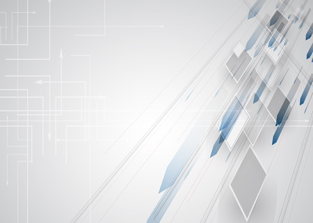 creativo: Nueva futuro concepto de tecnología fondo abstracto para solución de negocio