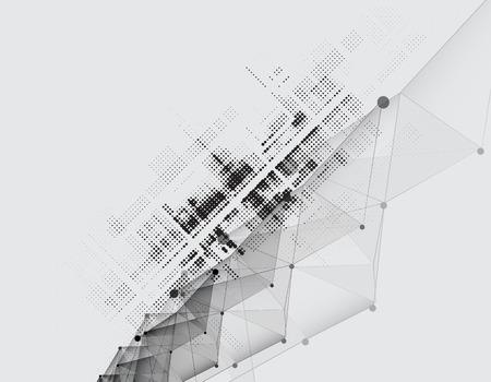 Nuovo futuro tecnologia concetto di fondo astratto per soluzione di business Archivio Fotografico - 39521063