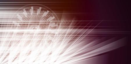 New zukünftige Technologie-Konzept abstrakten Hintergrund für Business-Lösung Vektorgrafik