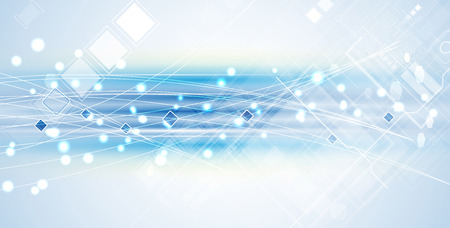 New future technology concept abstract background for business solution 일러스트