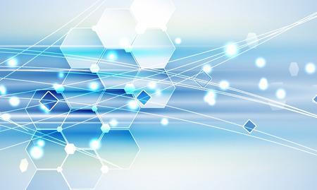 arquitectura: Nueva futuro concepto de tecnología fondo abstracto para solución de negocio