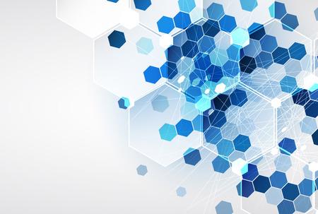 Nueva futuro concepto de tecnología fondo abstracto para solución de negocio Foto de archivo - 39876790