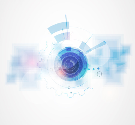 technology abstract background: Technology abstract background collection for business solution ideas. Vector image