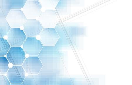 テクノロジー: 技術の抽象的な背景のベクトル  イラスト・ベクター素材