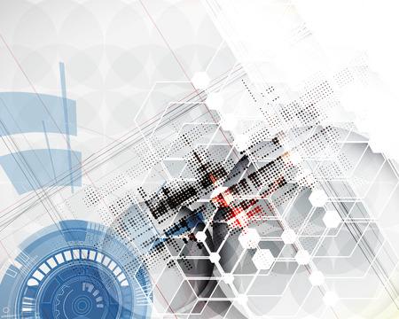 Technologie fond abstrait Vector