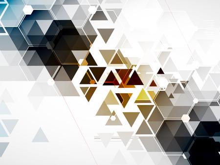 tecnologias de la informacion: Fondo abstracto Tecnología Vector