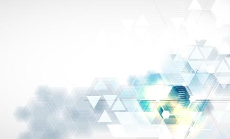 技術の抽象的な背景のベクトル  イラスト・ベクター素材