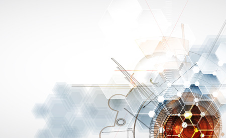 Technology abstract background Vector 일러스트