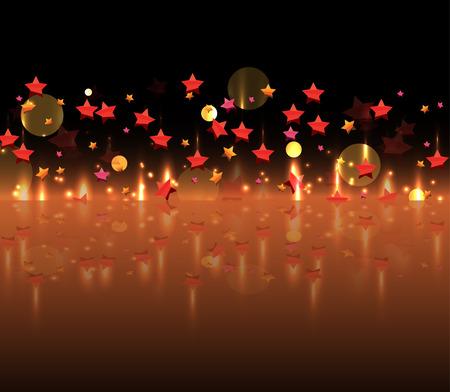 celebration: Salute ünnepi tűzijáték háttér Illusztráció