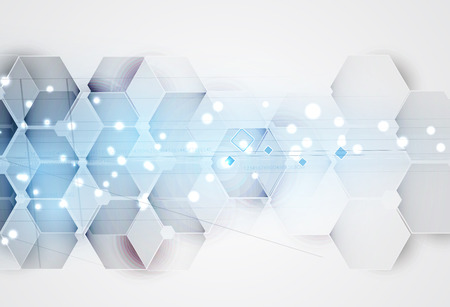 Abstract background. Futuristic technology style. Elegant background for business tech presentations. Ilustracja