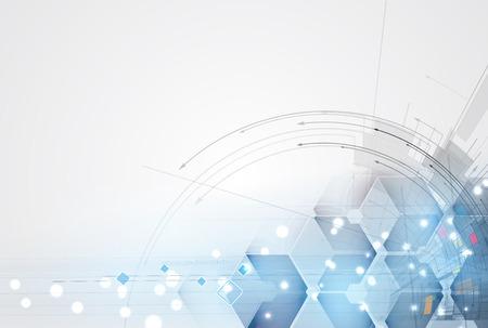 Abstracte achtergrond. Futuristische technologie stijl. Elegante achtergrond voor zakelijke tech presentaties.