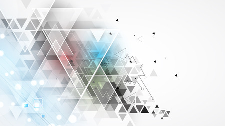 Abstract background. Futuristic technology style. Elegant background for business tech presentations. Illustration
