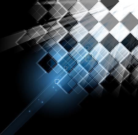 Abstract tech background. Futuristic interface.  矢量图像