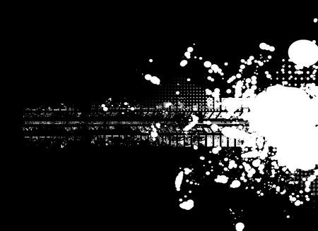Abstract tech background. Futuristic interface.  Stock Illustratie