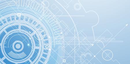 futuristic background: Abstract tech background. Futuristic interface. Illustration